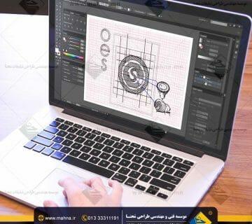 طراحی اتود لوگو فروشگاه محصولات الکتریکی