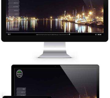 طراحی سایت شرکتی گروه وب سایتهای گیلز