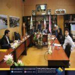 گزارش جلسه دفاعیه از طرح لوگو شهرداری با حضور شهردار انزلی